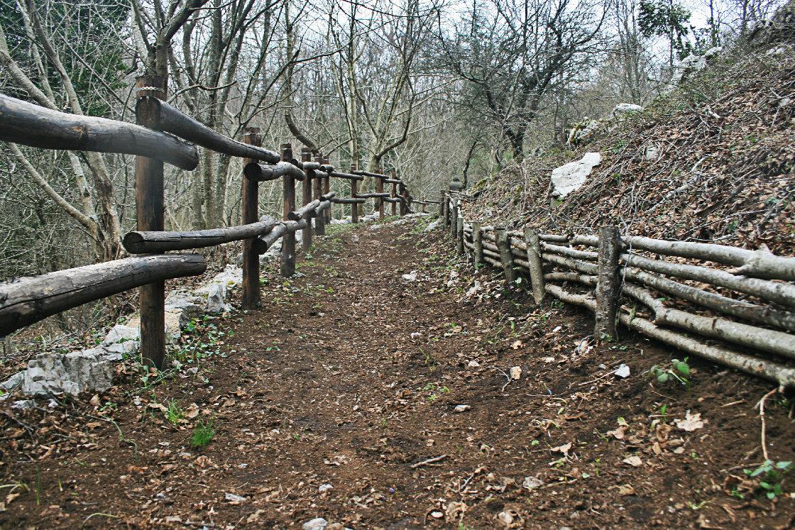 Sentiero dell'altipiano
